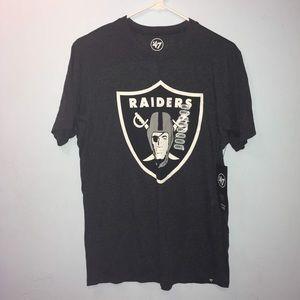 New Men's New Era NFL Oakland Raiders Tshirt Small